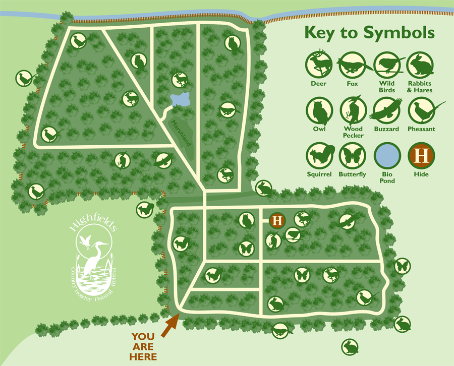 Highfields - Woodland Map2